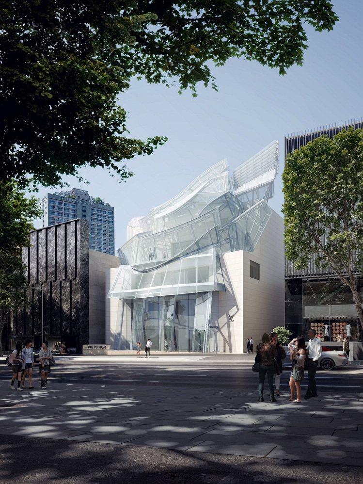 路易威登Maison Seoul首爾旗艦店預計於10月30日開幕。圖/LV提供