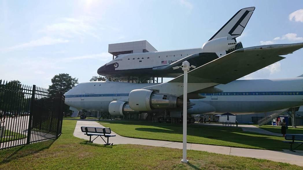 休士頓成為美國太空總署的重要基地成為宇宙迷朝聖殿堂。 記者黃淑惠/攝影