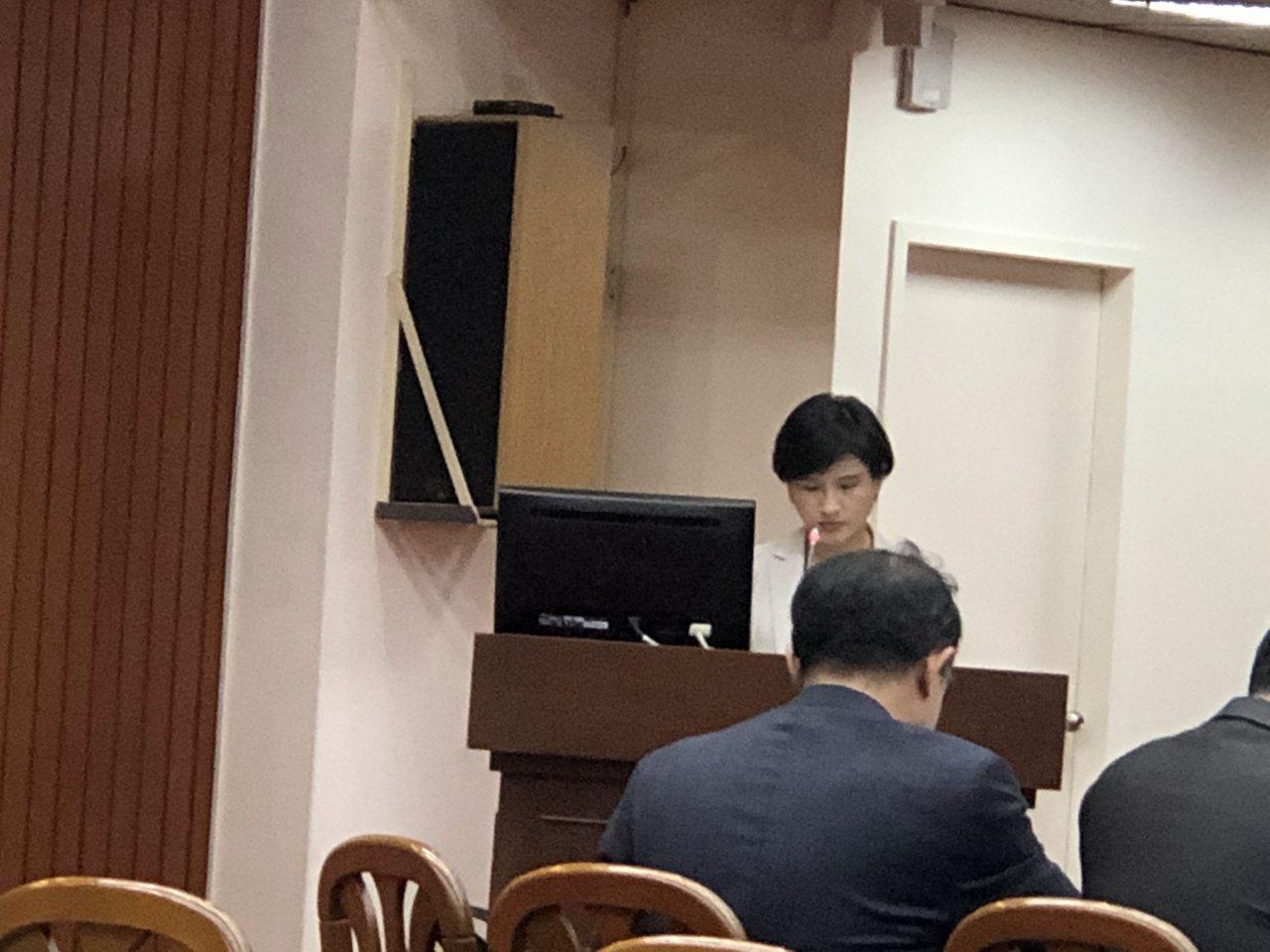 立法院教育及文化委員會會議今邀文化部及所屬單位預算報告。記者何定照/攝影