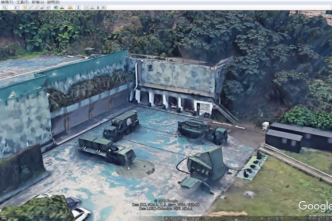機敏設施遭3D市景「突襲」全曝光 立院要國軍偽裝因應