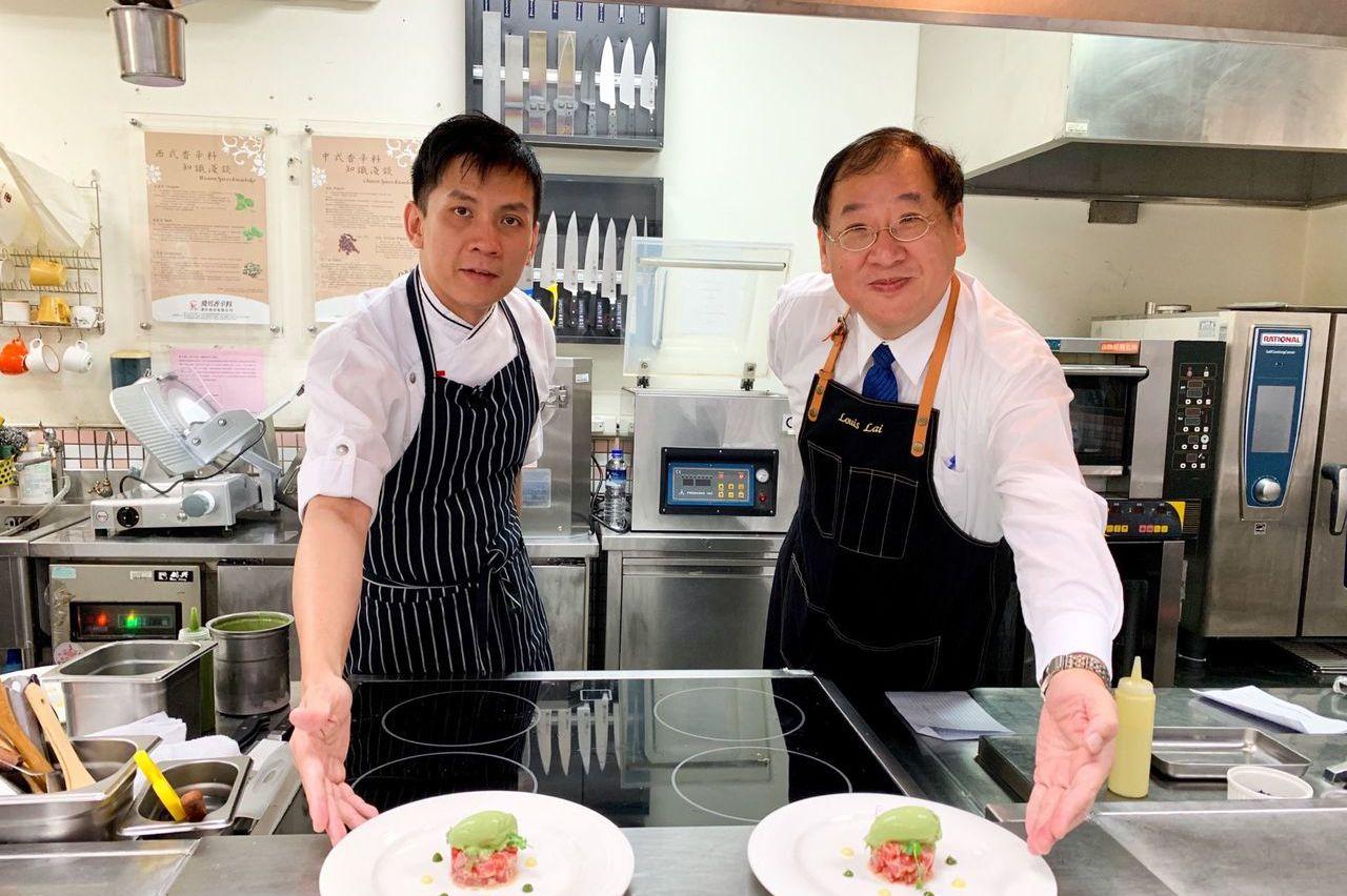新加坡名廚來高雄獻藝 高雄海味化為美味饗宴