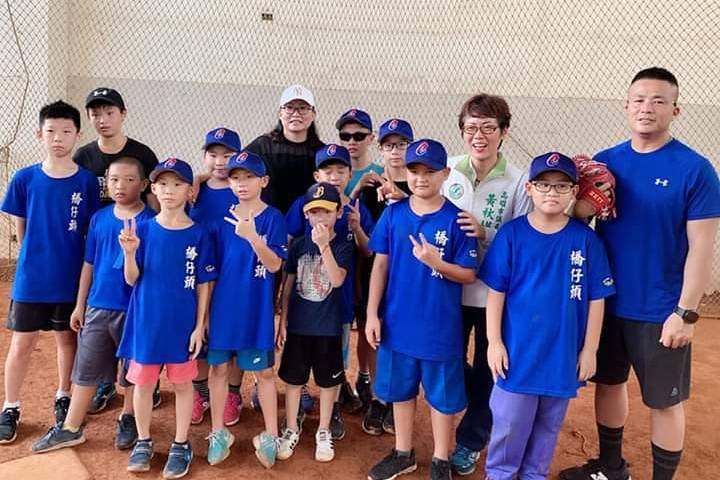 「橋仔頭社區棒球隊」招募新兵。圖/橋仔頭社區棒球隊提供