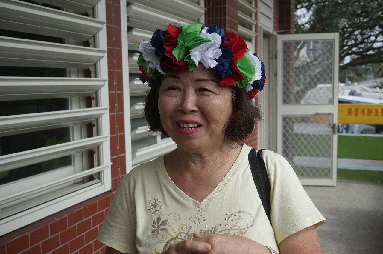 出身屏東的涂立倩,嫁到大溪地多年,是促成這次兩地交流的推手之一。記者王燕華/攝影