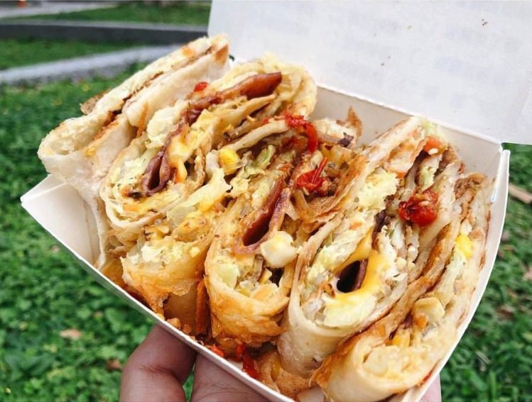 「蛋要酷手工蛋餅專賣店」是許多學生吃客口袋名單。圖/IG@foodie.kiki...