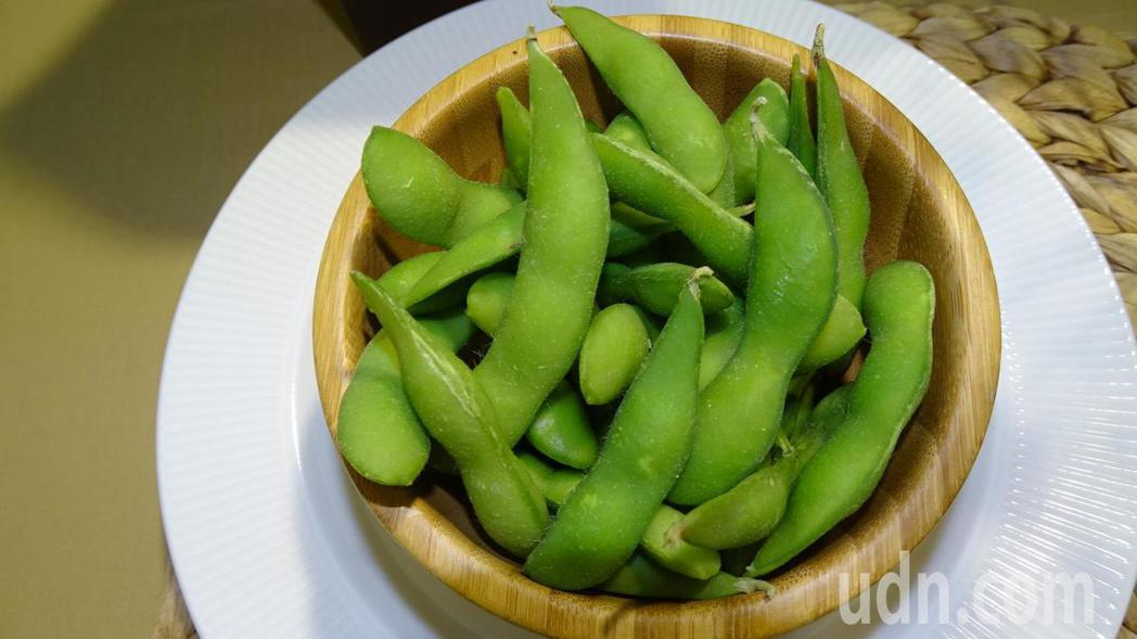 有「綠金」之稱的毛豆,每年為台灣賺進大筆外匯。記者謝進盛/攝影