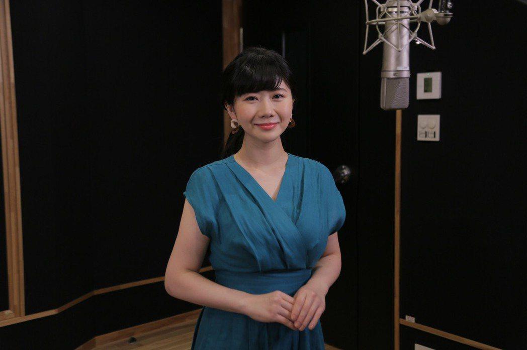 福原愛為電玩進錄音室配音。圖/SEGA提供