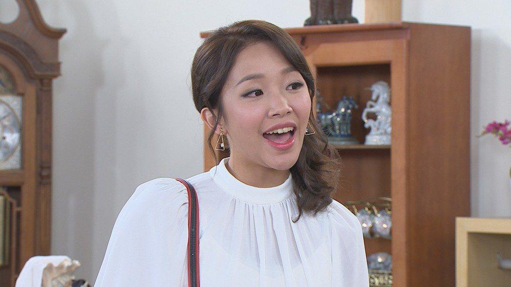 賴慧如在劇中飾演傅子純的初戀情人。圖/民視提供