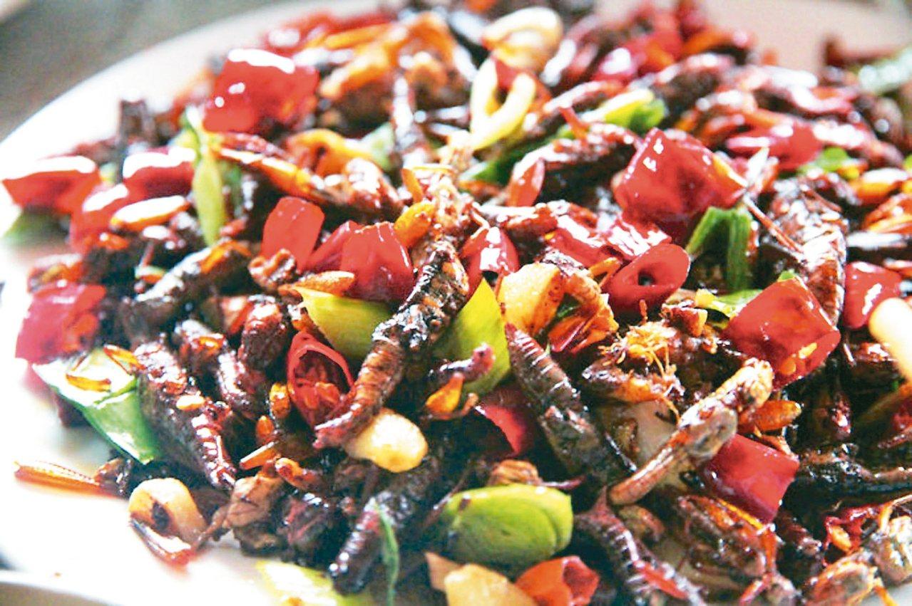 炸蝗蟲外酥內軟,且富含蛋白質,如今已經成為苗嶺侗鄉的一道在地特色美食。 百度