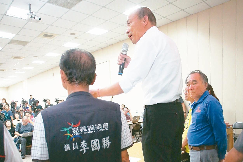 宣揚愛國精神 韓國瑜:3000公尺高山設升旗台