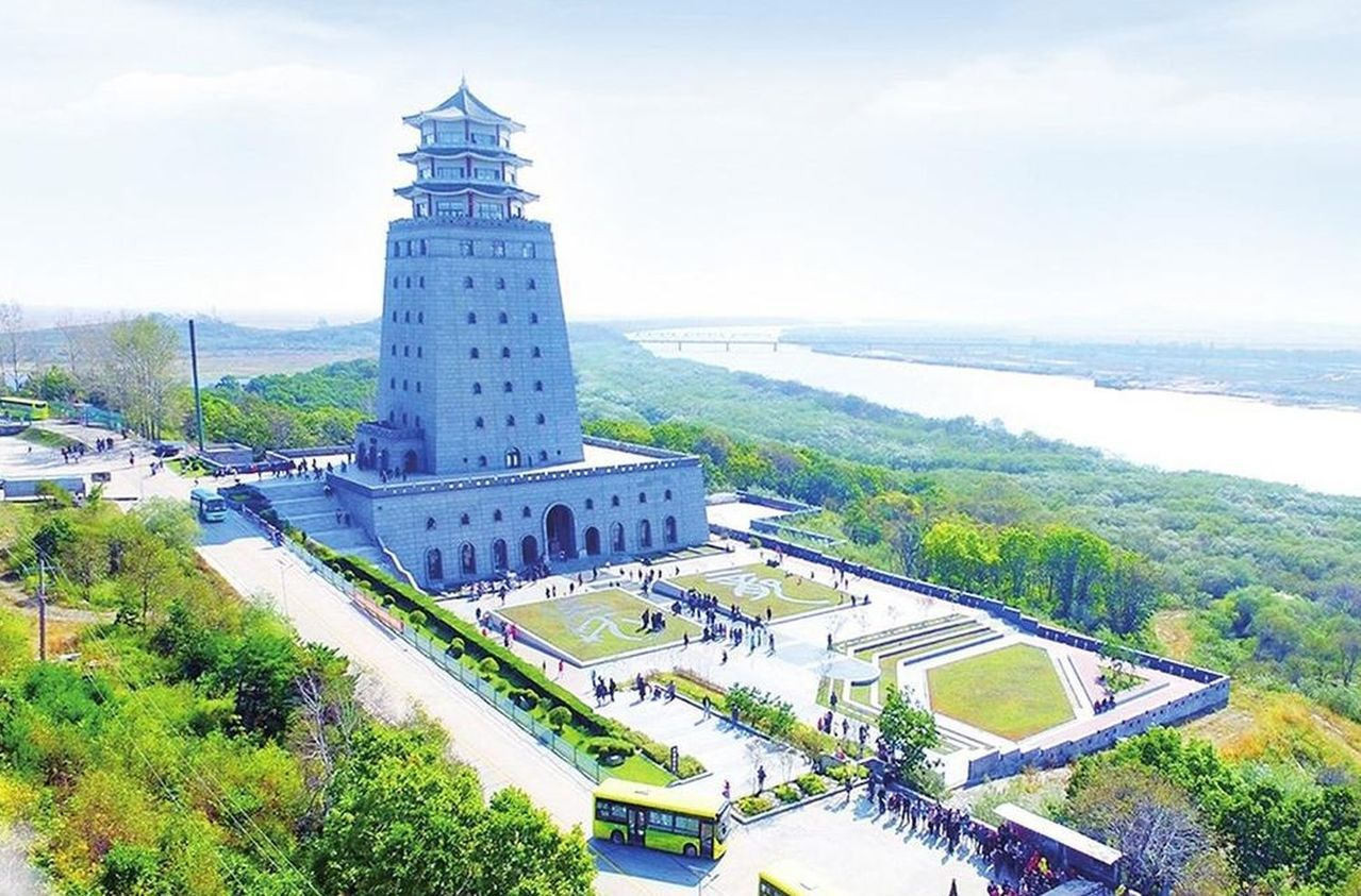 琿春防川風景區。圖/延邊信息港、張明攝