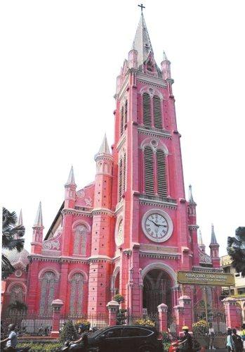 越南知名景點粉紅教堂