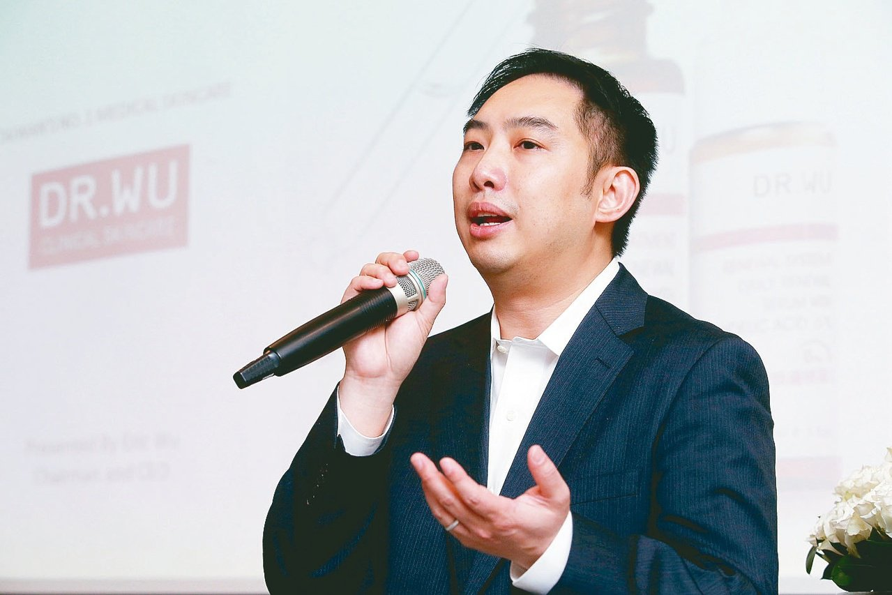 達爾膚董事長吳奕叡。圖/聯合報系資料照片