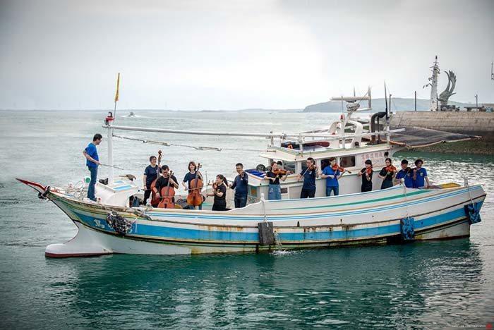 圖:去年度灣聲行腳到澎湖馬公,獲熱烈迴響