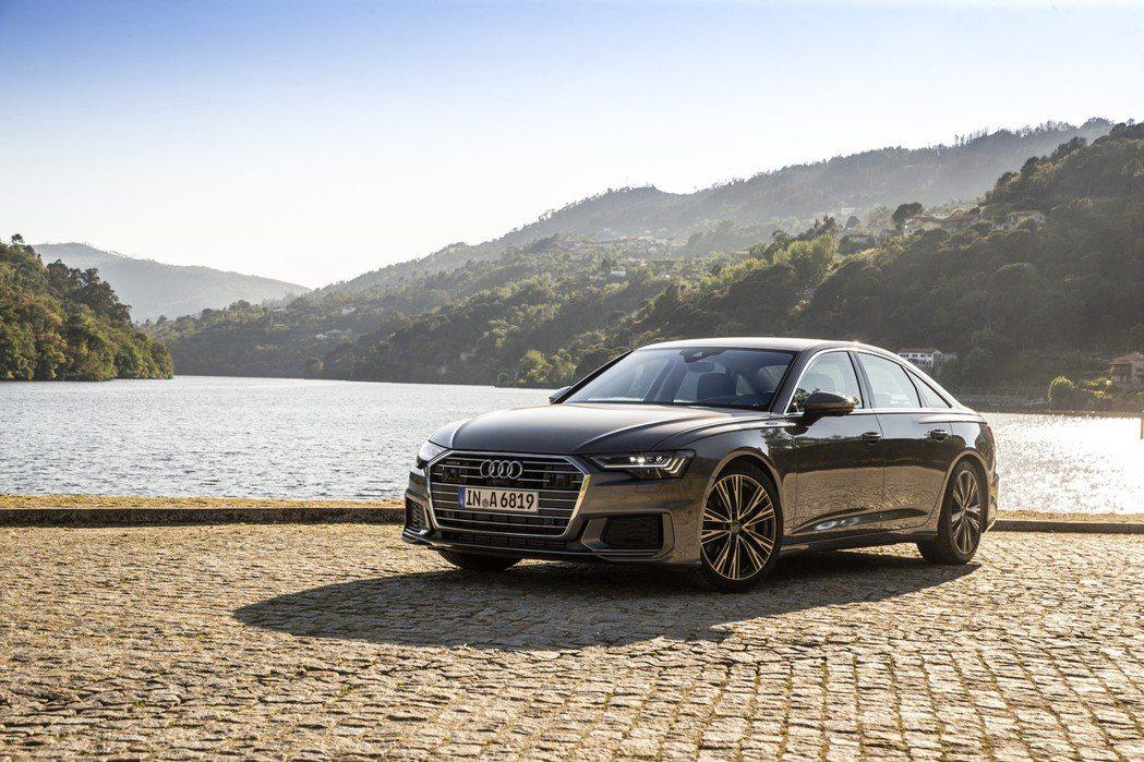 The new Audi A6正式在台上市。 圖/Audi提供