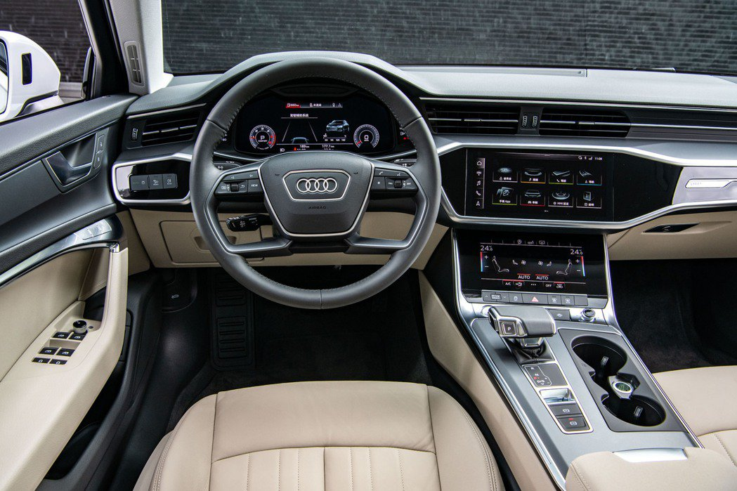 The new Audi A6車系採用同級唯一MMI touch respons...
