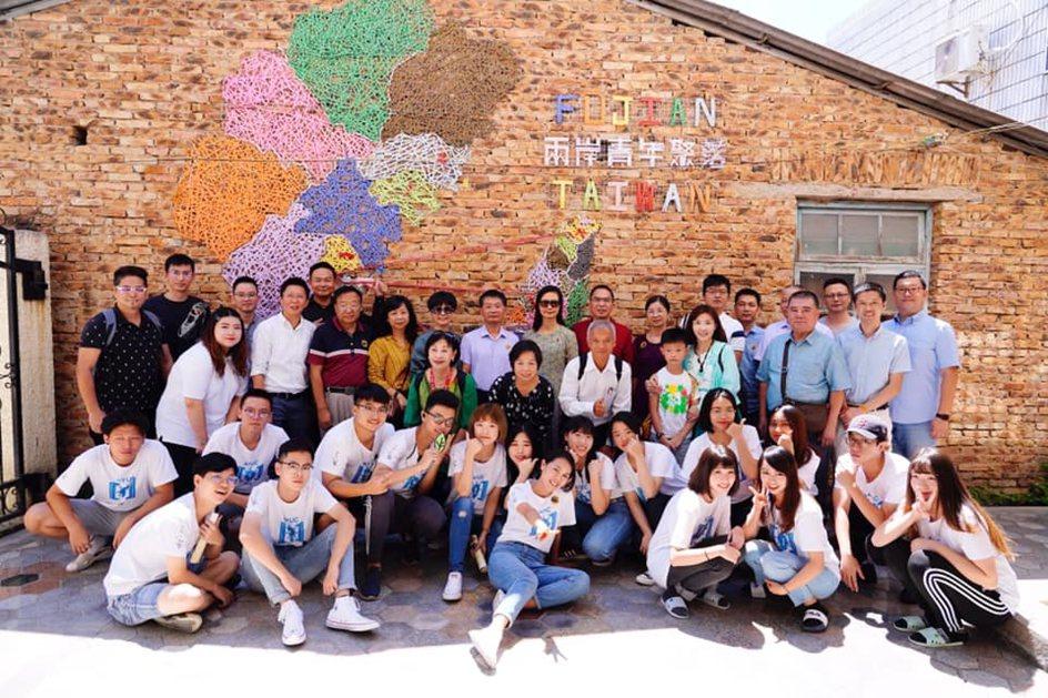 中國科大室設系主任李東明參加廈門實習學生成果發表會。 校方/提供
