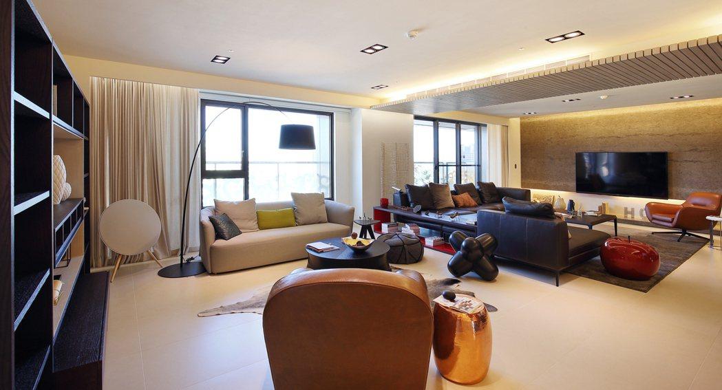 坪數為23~38坪,訂金到交屋43萬起買2~3房,大受年輕族群青睞。圖片提供/興...