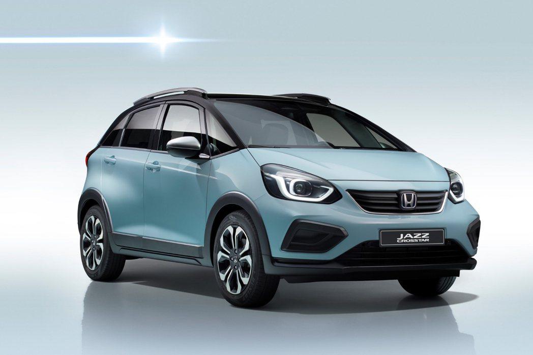第四代Honda FIT在歐洲市場除了有一般版本車型外,還多了Crosstar車...