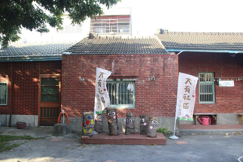 大有社區利用居民老建物成立青年創客村。 圖/林敬家攝影