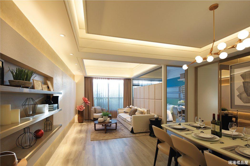 竹城建設悉心規劃高坪效空間,讓小家庭買得起又買得好。 圖/A7地王竹城甲子園 提...