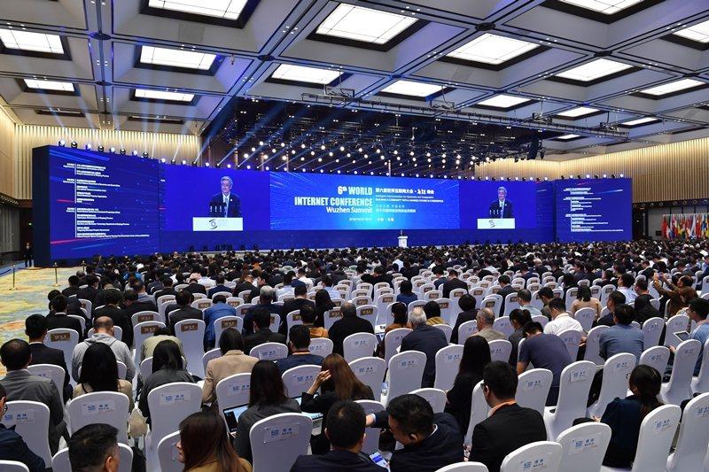 中國主辦的第六屆「世界互聯網大會」,10月20日至22日在中國浙江烏鎮召開。 圖...