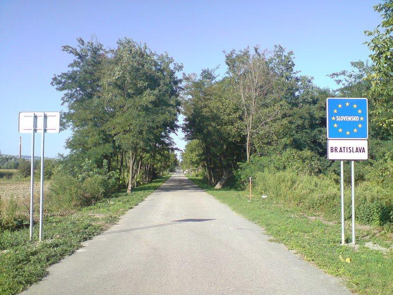 克羅埃西亞通過審查加入申根區。圖為一處申根區標誌。(photo by Wikim...