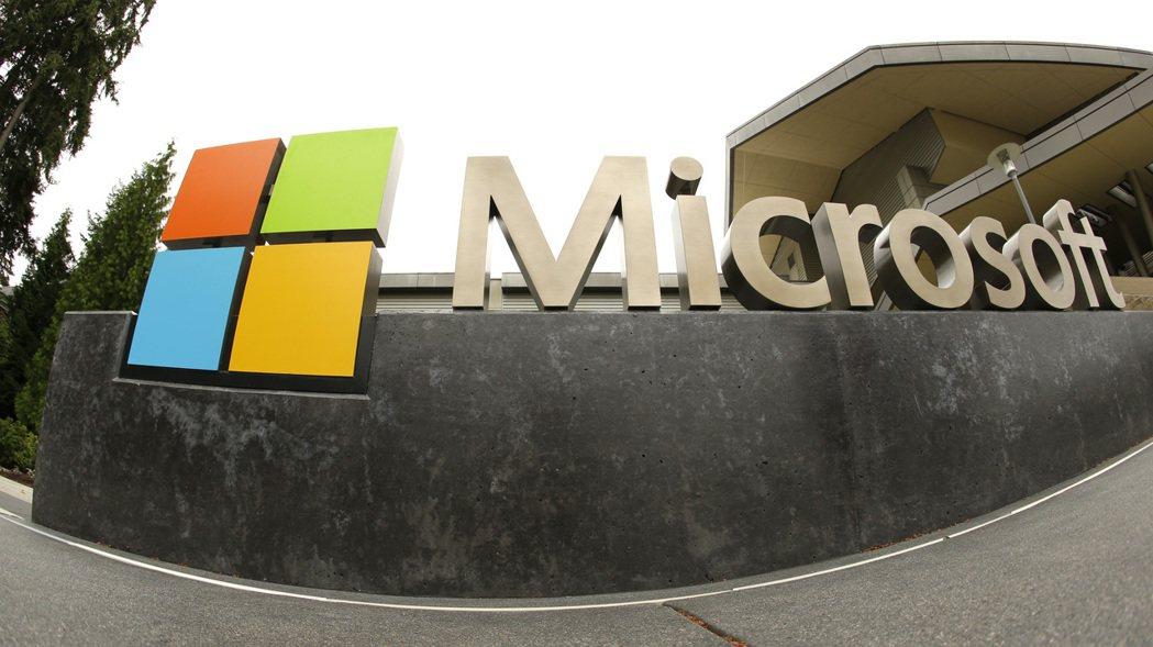 微軟上季營收獲利都優於預期。  美聯社