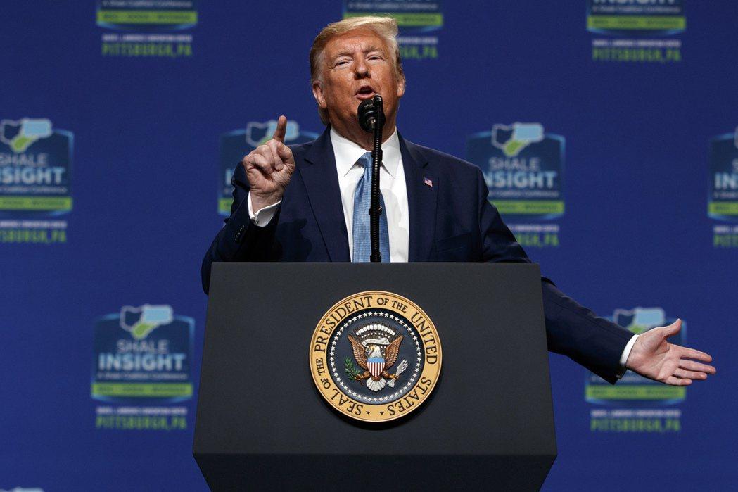 美國總統川普23日在匹茲堡演講時說,他要在科羅拉多州築牆,引發社群媒體用戶的困惑...