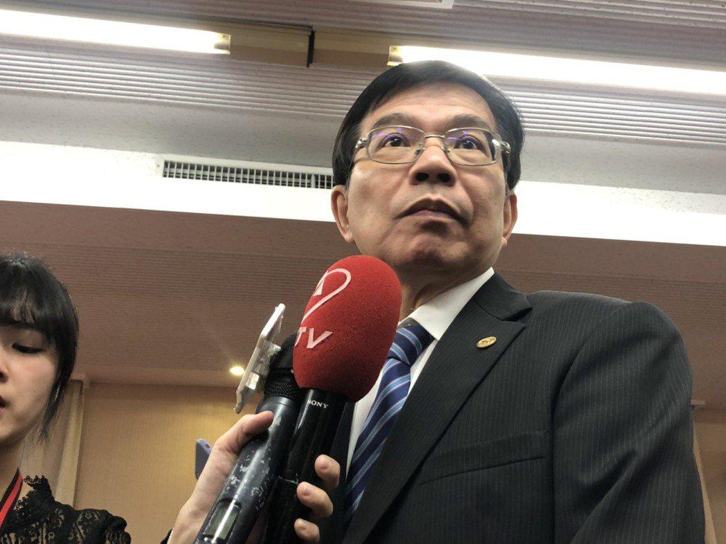 交通部次長王國材。記者曹悅華/攝影