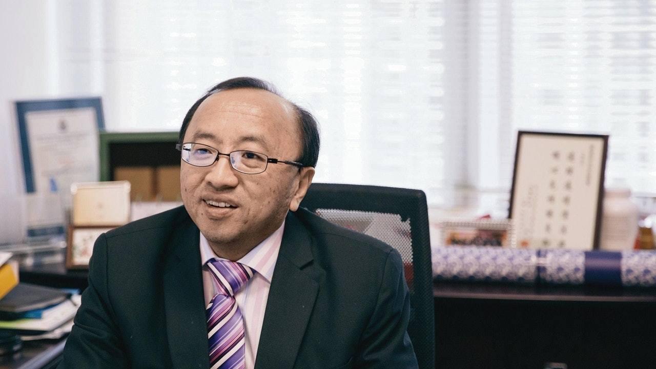 香港大學法律學院首席講師張達明。圖/取自香港01