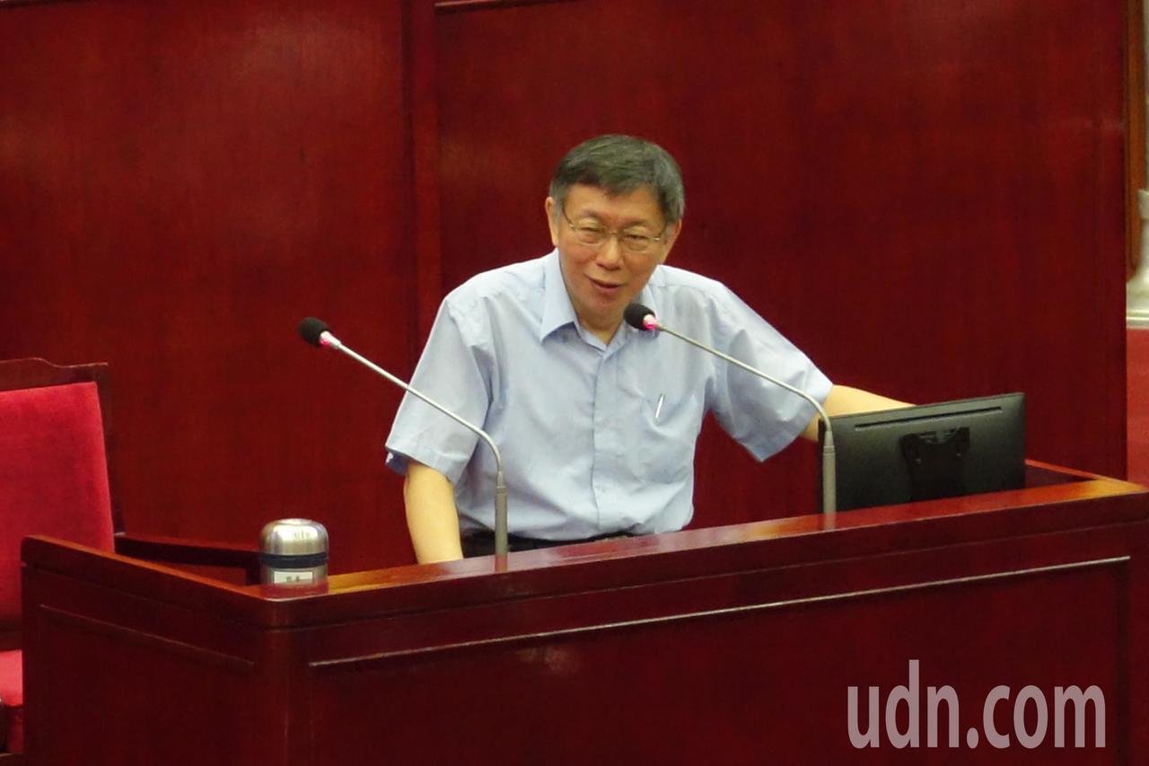 台北市長柯文哲強調,藏人自焚確實造成中國大陸很大的國際壓力,但怎麼會用這種方式,...