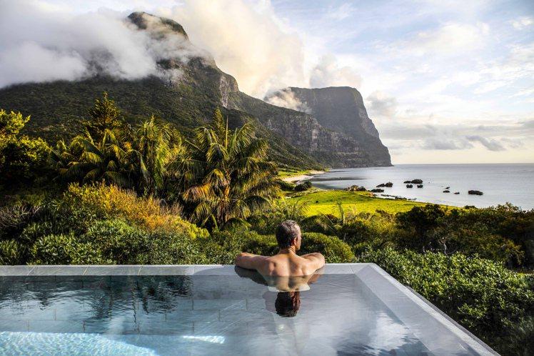 豪勳爵島提供奢華的住宿選擇。圖/stuckonarockphoto