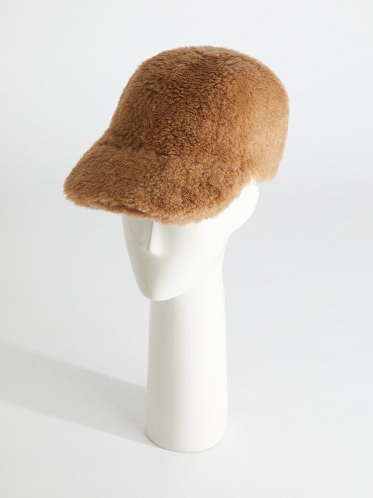 #MaxTheTeddy系列新泰迪熊帽,售價8,800元。圖/Max Mara提...