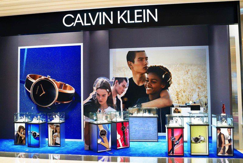 SWATCH集團宣布與服飾品牌CALVIN KLEIN終止合作,未來不再生產CK表。圖/CALVIN KLEIN Watches & Jewelry提供