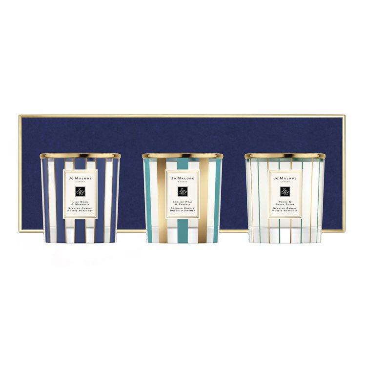 Jo Malone「魔幻香氛」裝飾香氛工藝蠟燭禮盒,200g X 3售價10,2...