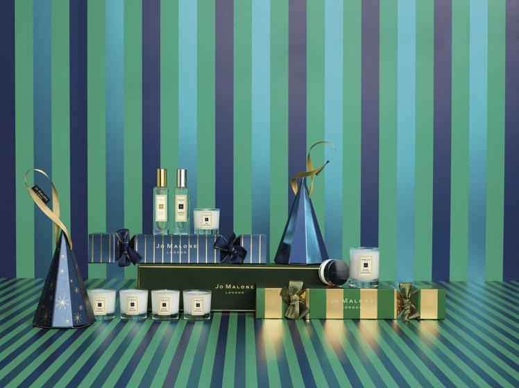 Jo Malone「魔幻香氛」耶誕限量系列推出多款禮盒。圖/Jo Malone提...