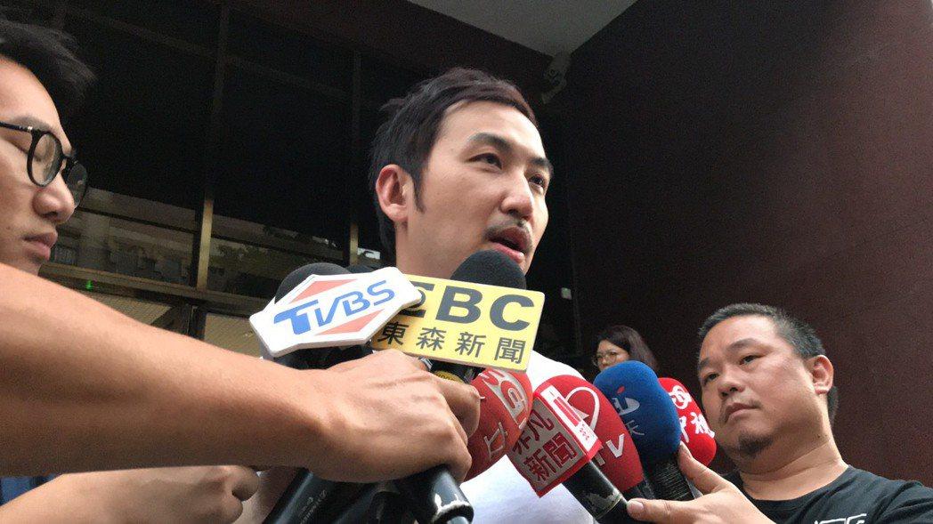 李進良今天到台北地院出庭。記者王聖藜/攝影
