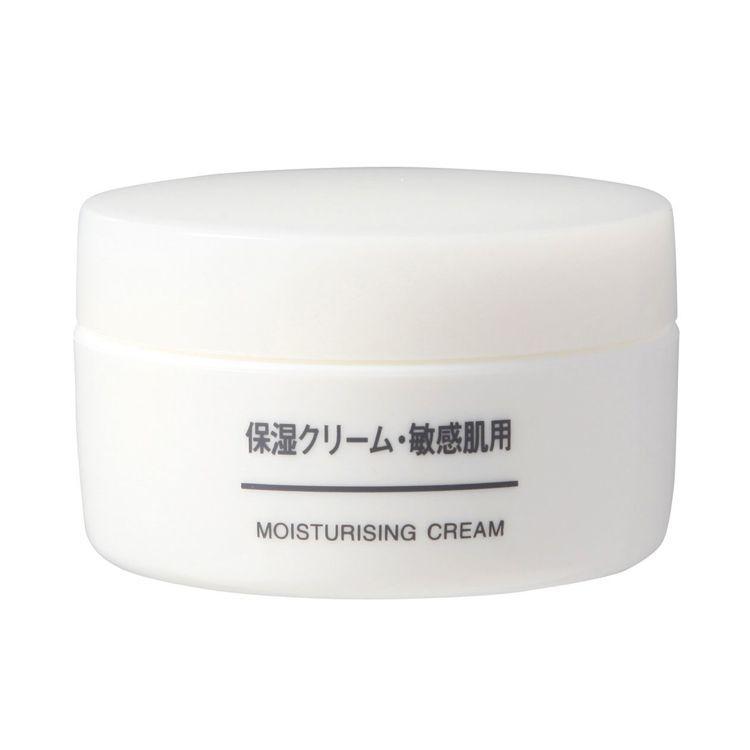 MUJI敏感肌保濕乳霜,售價360元。圖/無印良品提供