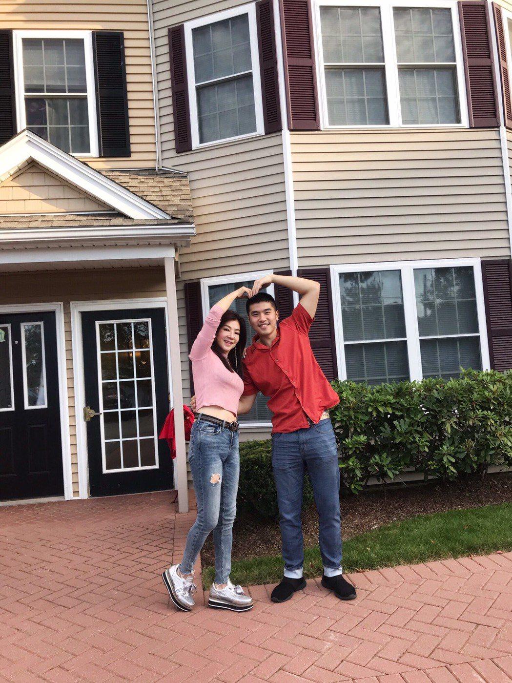 蔣黎麗花80萬美金(約合2400萬台幣)幫小兒子Victor在美波士頓買的房子。...