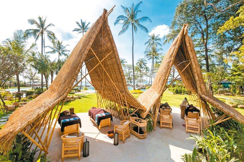 泰國伊甸海灘度假飯店「伊甸園THE SPA」。 圖/摘自官網