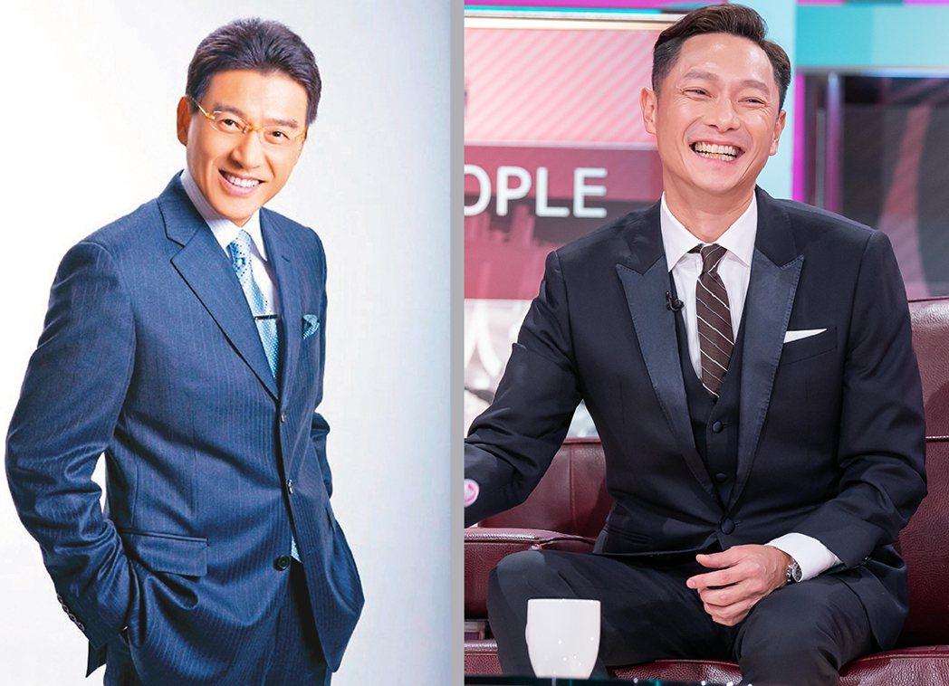 圖左為律師謝震武,右為藝人謝祖武。圖/謝震武、TVBS提供