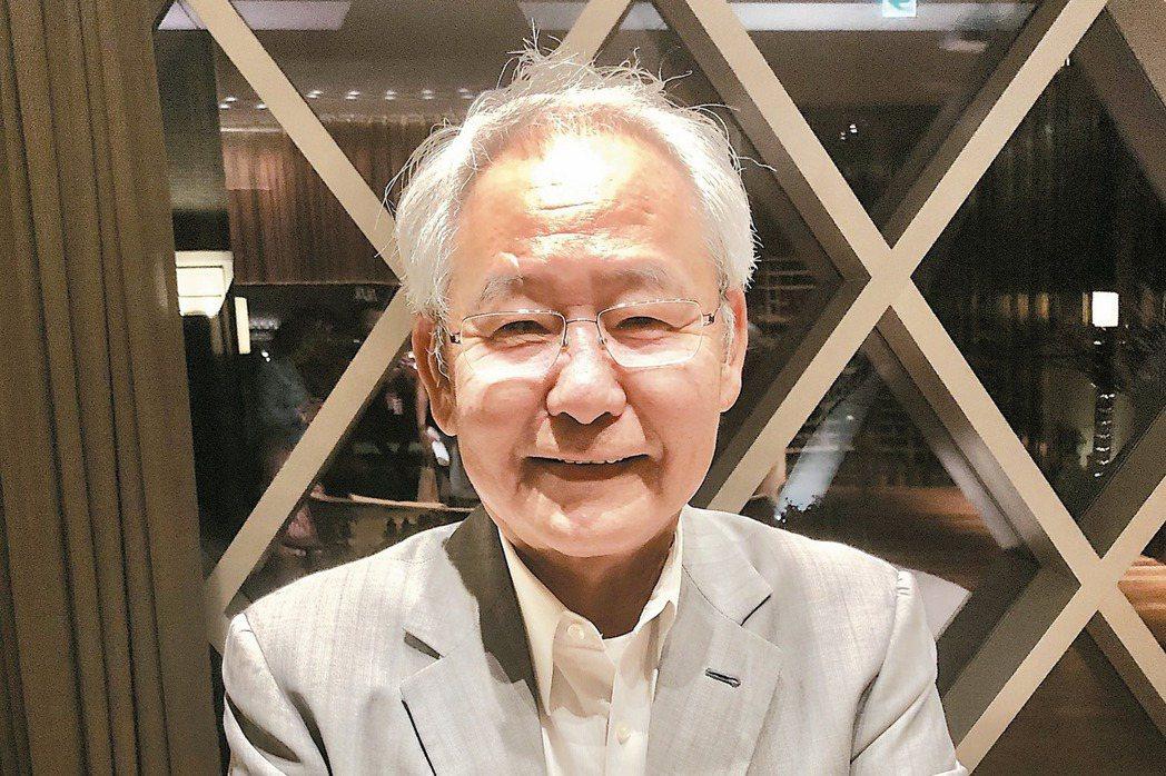 大陸建設董事長張良吉 記者宋健生/攝影