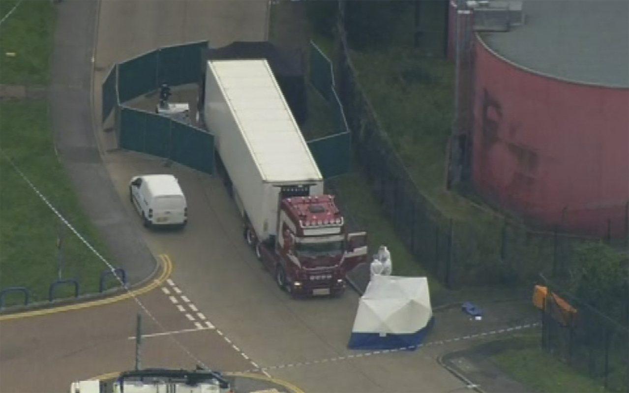 英國貨櫃命案 比利時媒體:使用冷凍櫃有玄機/39名中國人生前經歷過什麼? 美聯社