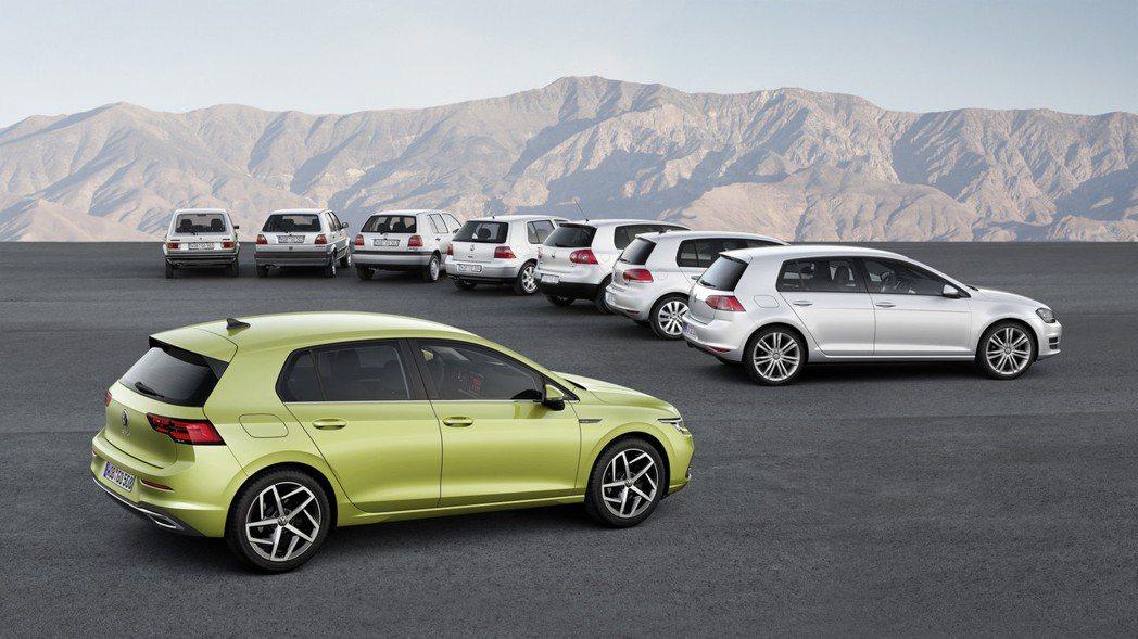 第八代Volkswagen Golf將於12月率先於歐洲開賣。 摘自Volksw...