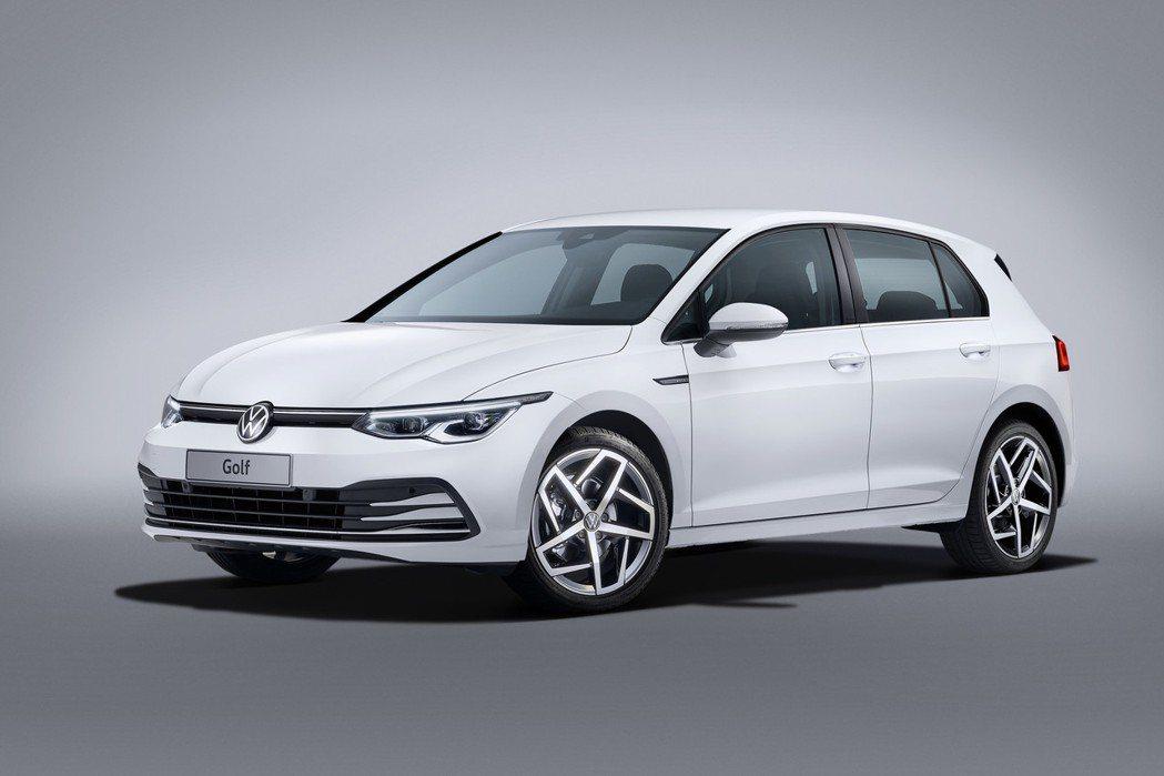 第八代Volkswagen Golf首度擁有48V Mild-Hybrid清油電...