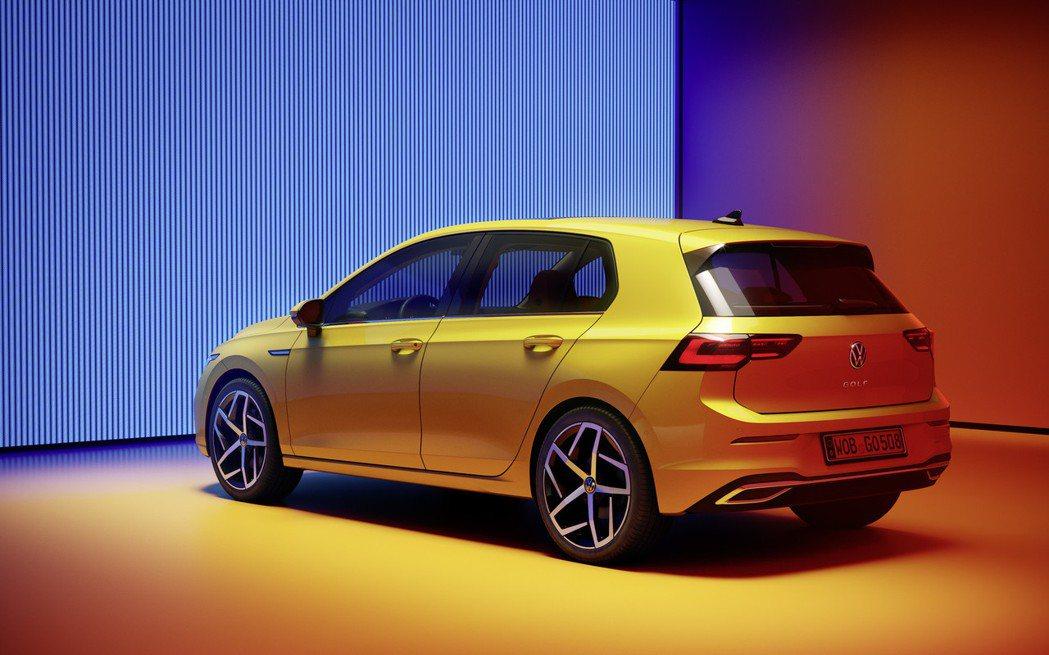 第八代Volkswagen Golf。 摘自Volkswagen