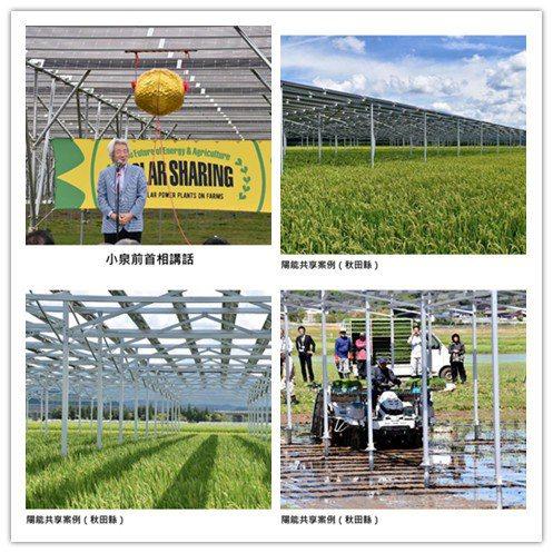 有圖有真相。日本發展營農型太陽光電,為各國樹立參考典範。 系統公會/提供