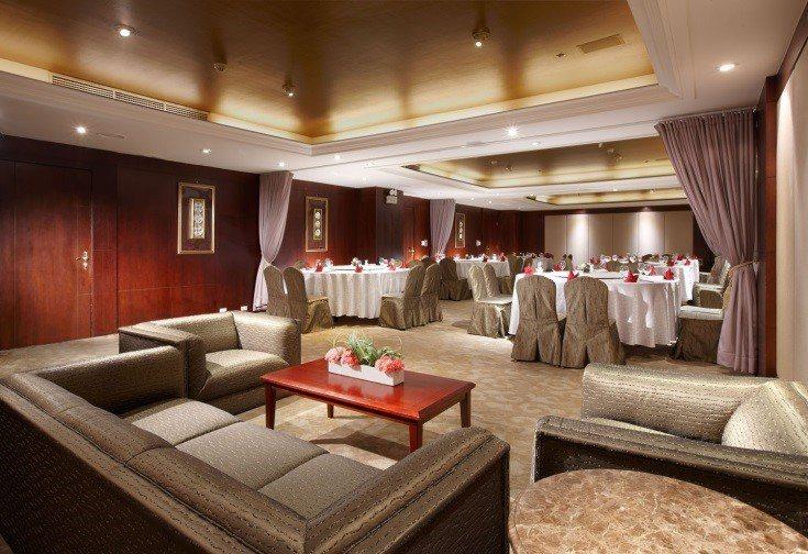 以中華料理聞名的玉蘭軒,提供小型、精緻的宴客服務。王朝大酒店/提供