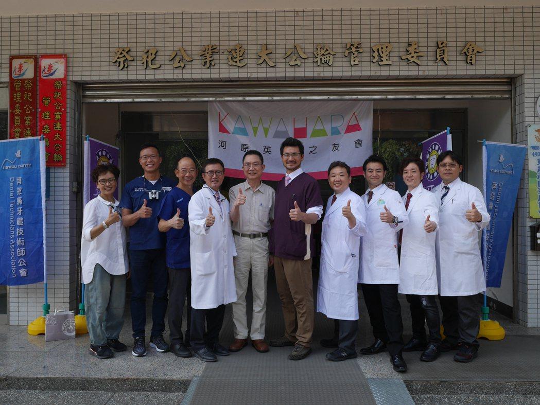 特別邀請日本醫師一同來台義診。 賴俊明/攝影