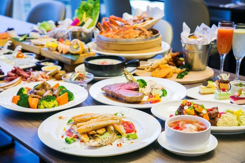 凱達飯店百宴自助餐廳菜色情境照。 業者/提供